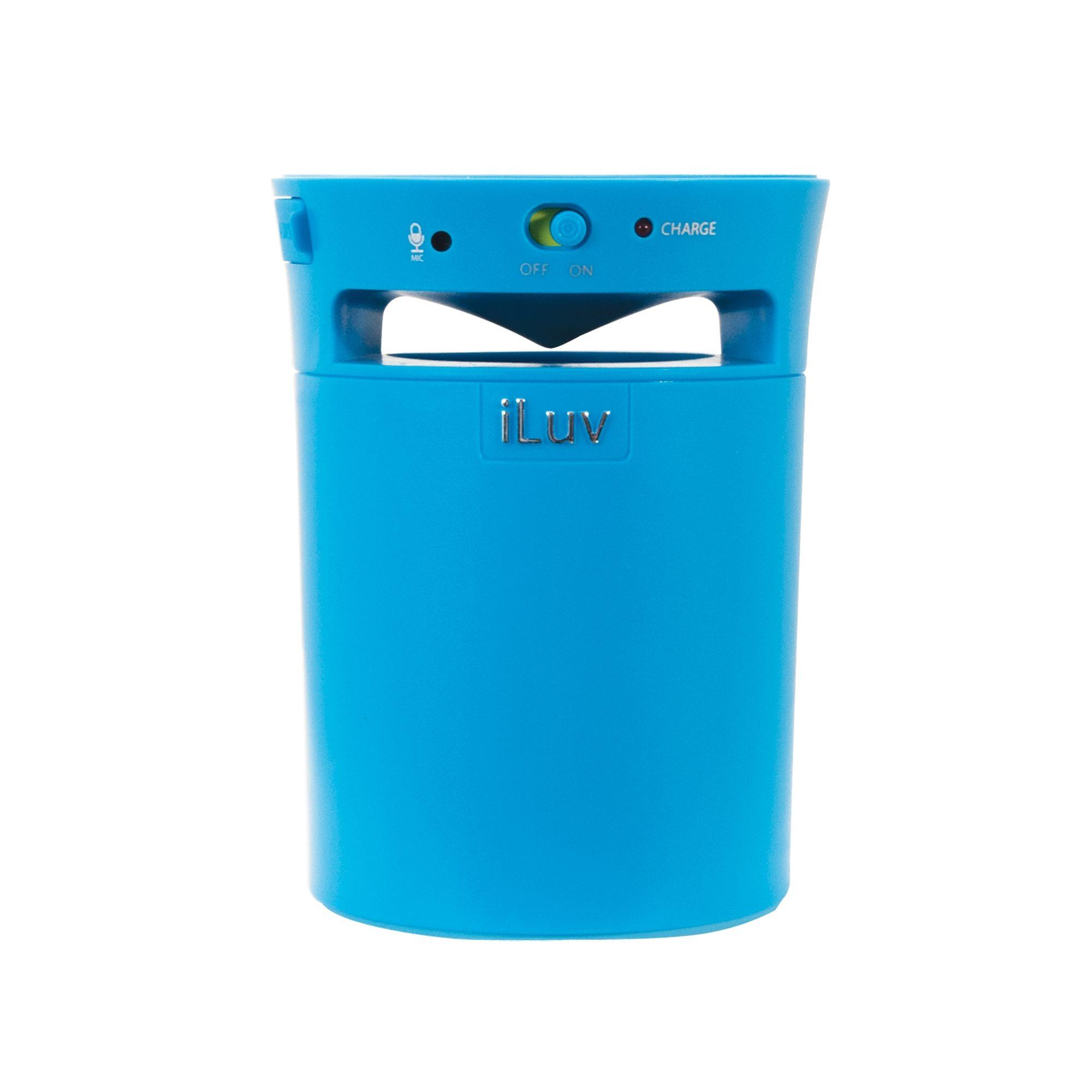 iLuv Bluetooth Lautsprecher »Mobi Cup Blau«