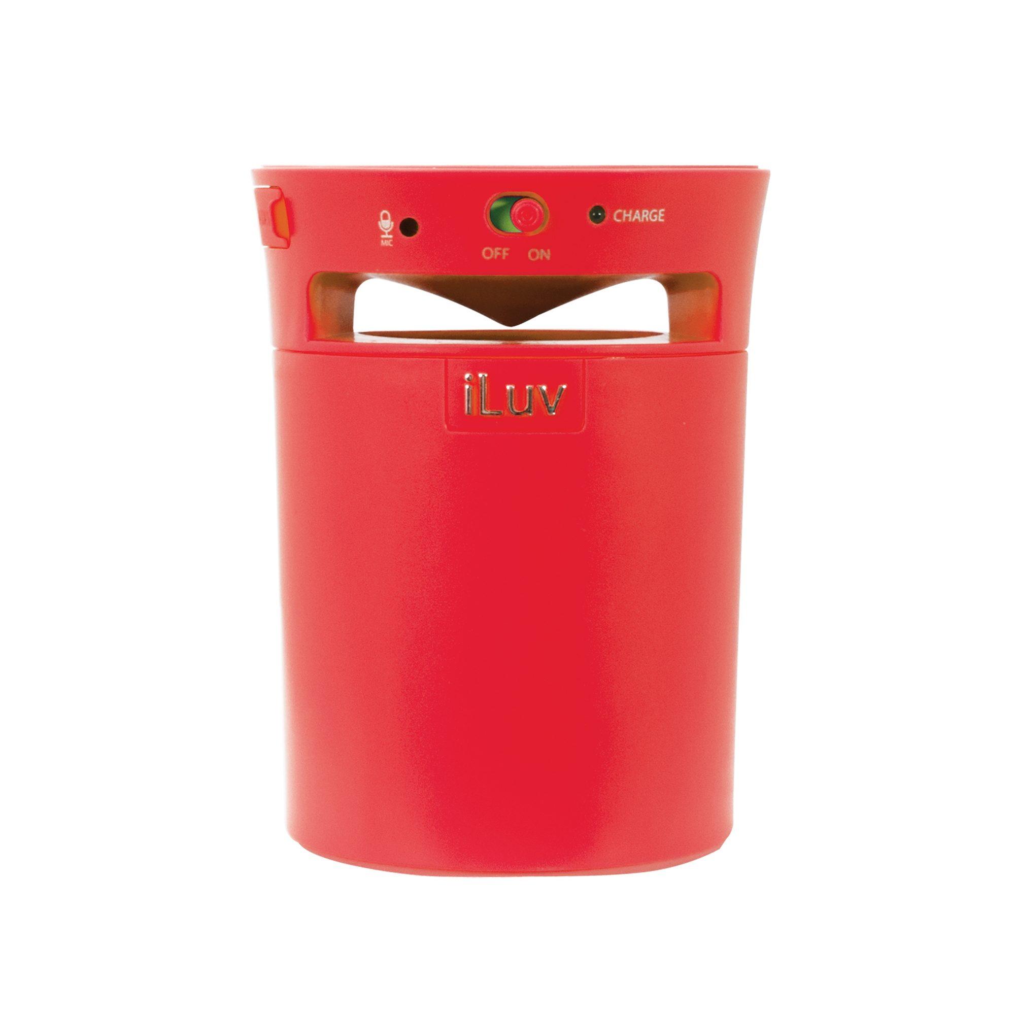 iLuv Bluetooth Lautsprecher »Mobi Cup Rot«