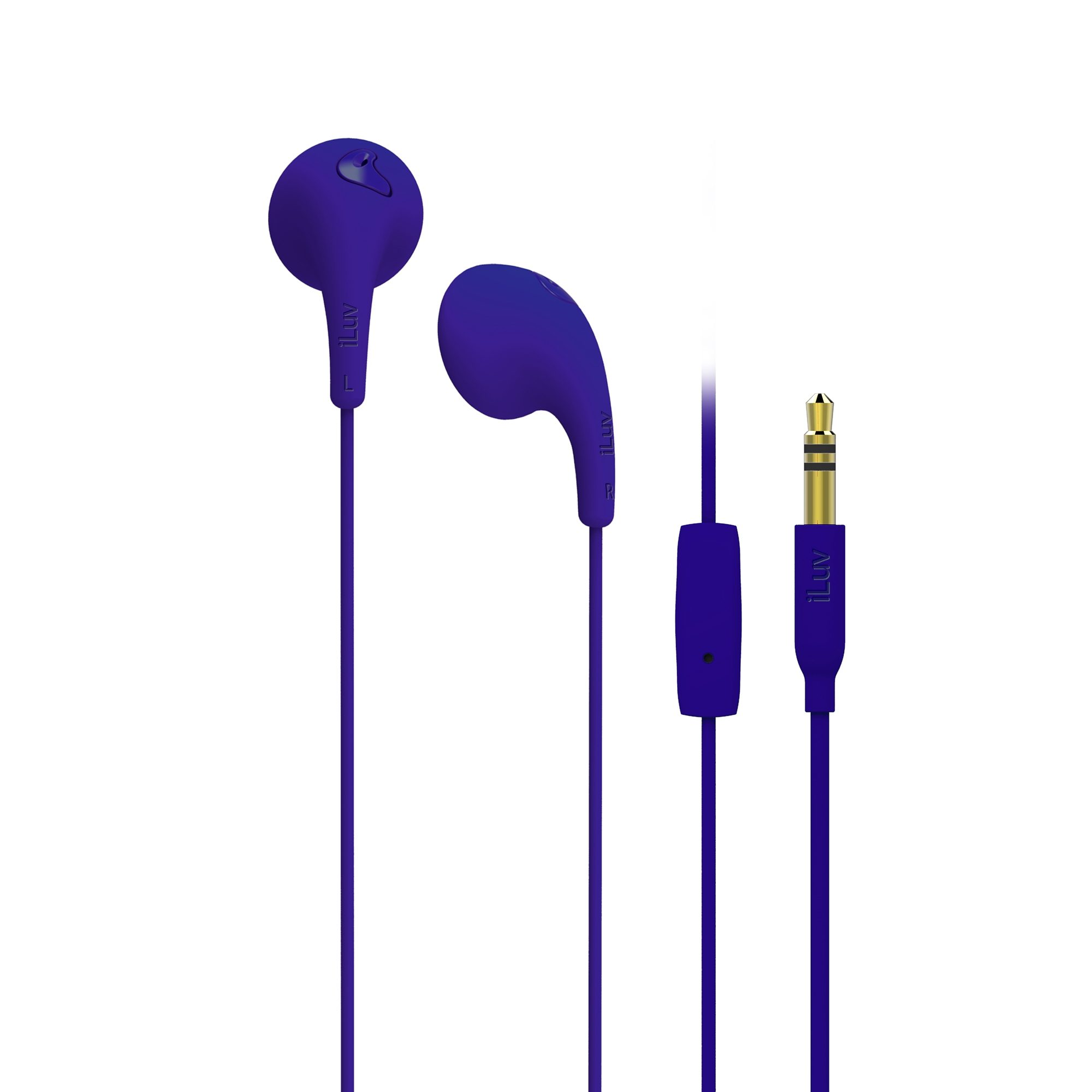 iLuv In Ear Headset »Bubble Gum Talk Lila«