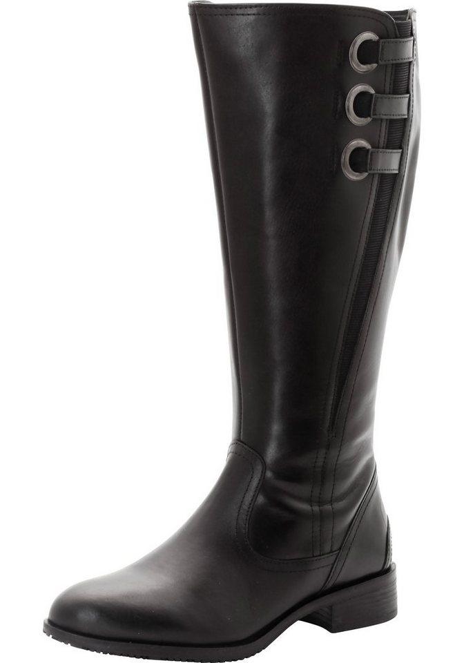sheego XL-XXL Weitschaftstiefel in schwarz