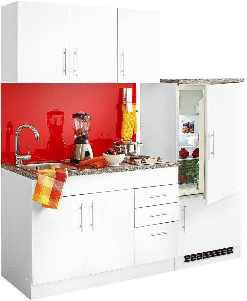 HELD MÖBEL Küchenzeile »Toledo«, Mit E Geräten, Breite 180 Cm