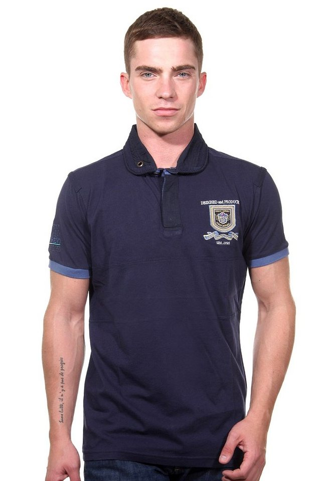 MCL Poloshirt regular fit in navy