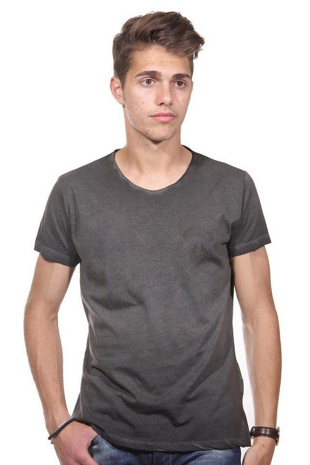 JENERIC T-Shirt Rundhals regular fit in anthrazit