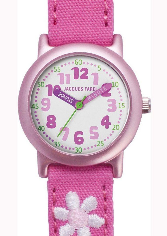 Jacques Farel Quarzuhr »ORG 1111« in rosa