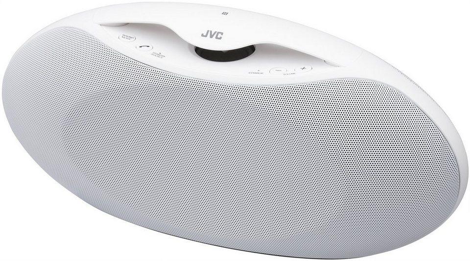 JVC Bluetooth Lautsprecher »SP-ABT30 weiss«
