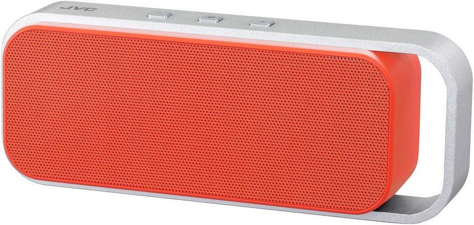 JVC Bluetooth Lautsprecher »SP-ABT1 orange/silber«