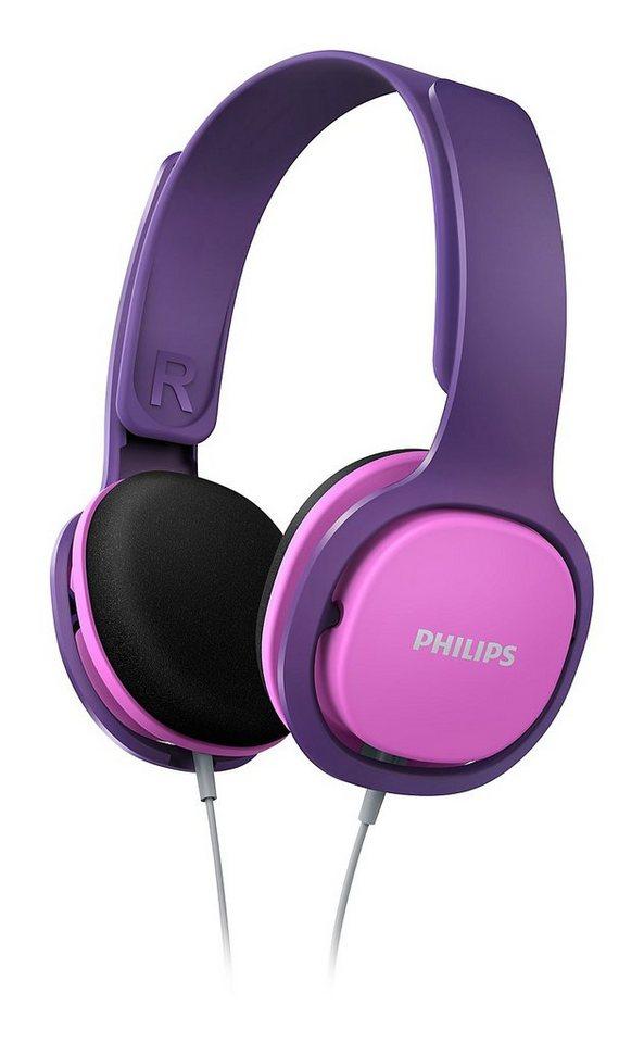 Philips Kinder Kopfhörer »SHK2000/00 Pink / Lila«