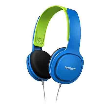 Philips Kinder Kopfhörer »SHK2000/00 Blau / Grün«