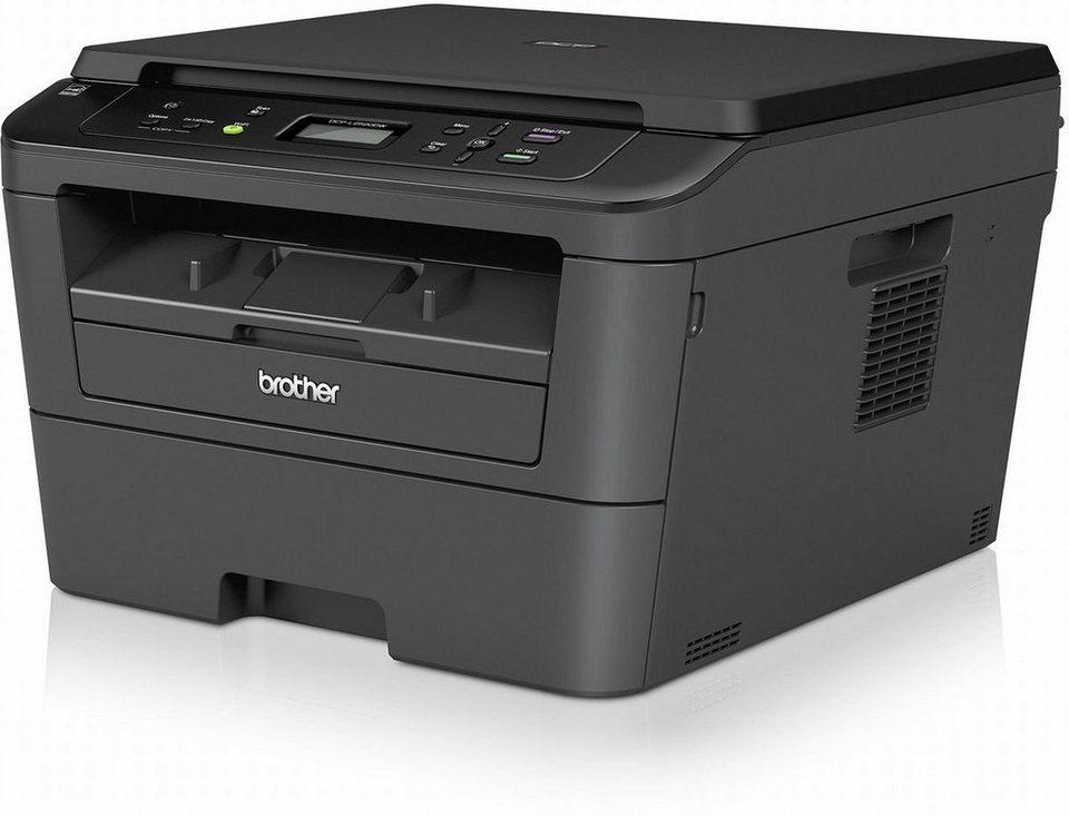 Brother Monolaser-Multifunktionsdrucker »DCP-L2520DW 3in1« in Schwarz