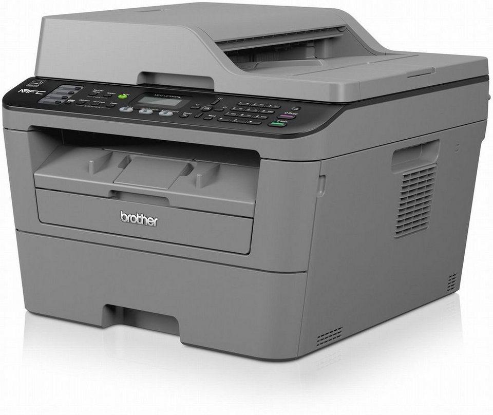 Brother Monolaser-Multifunktionsdrucker »MFC-L2700DW 4in1« in Grau