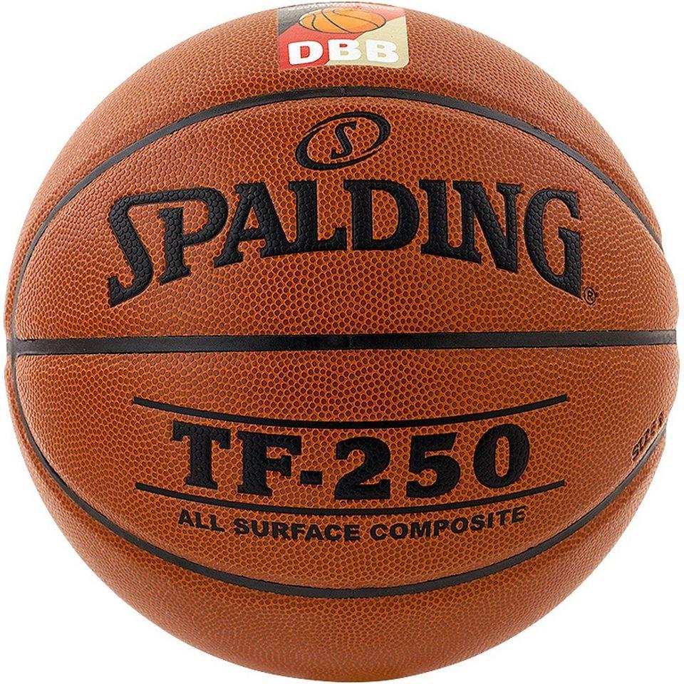 SPALDING TF250 DBB Basketball in braun