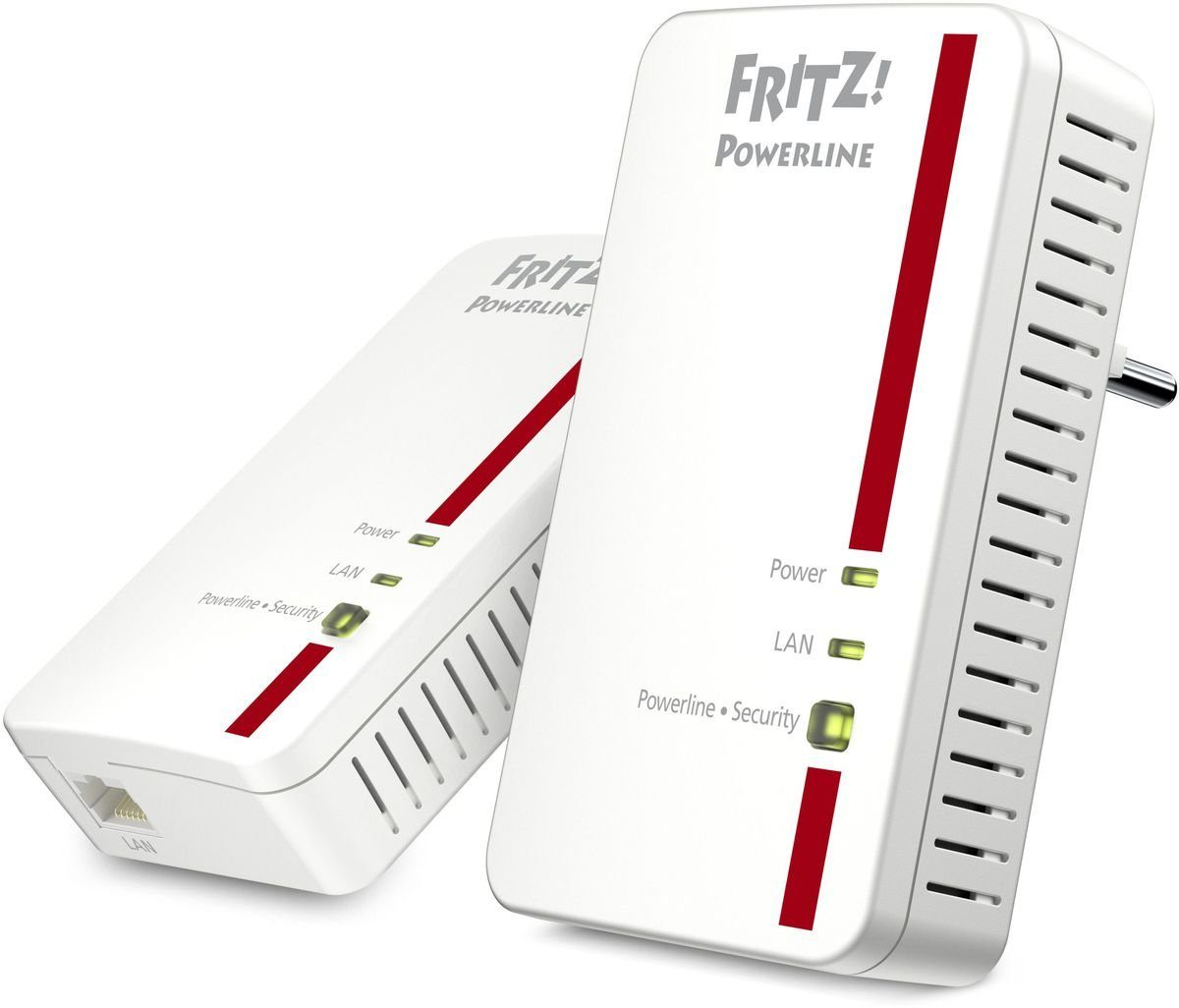 AVM Powerline »FRITZ!Powerline 1000E Set (1200 MBit/s)«