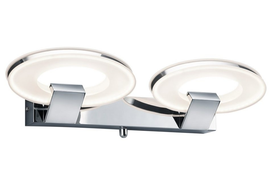 LED-Wandleuchte, Trio in silber