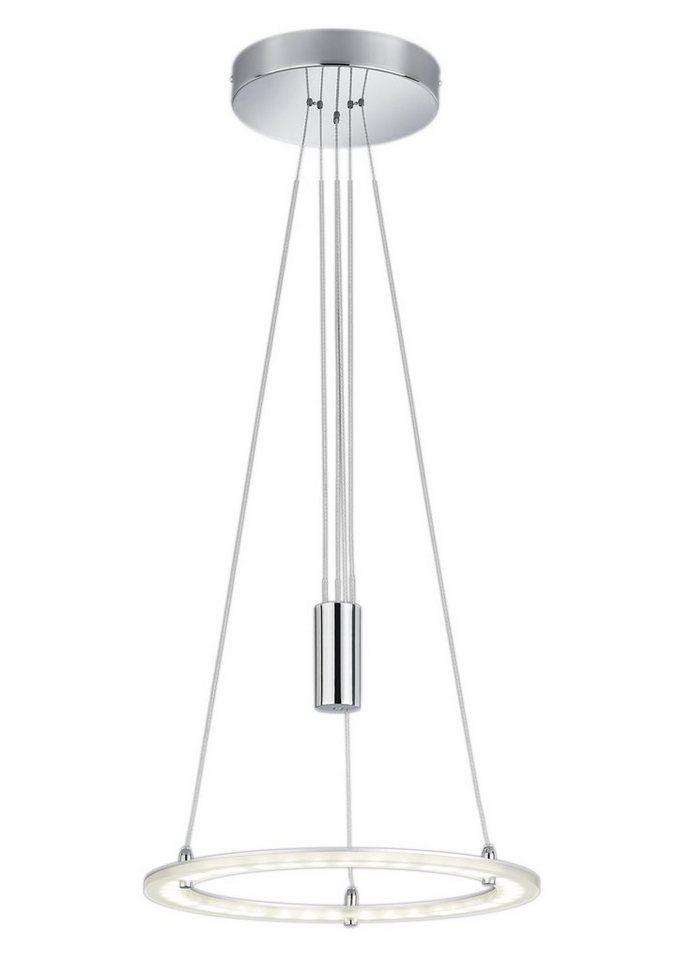 LED-JoJo-Pendelleuchte, Trio in silber