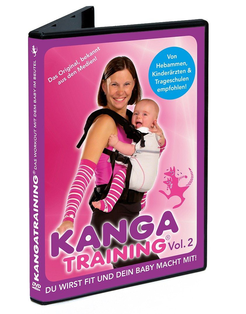 Wickelkinder DVD Kangatraining Volume 2