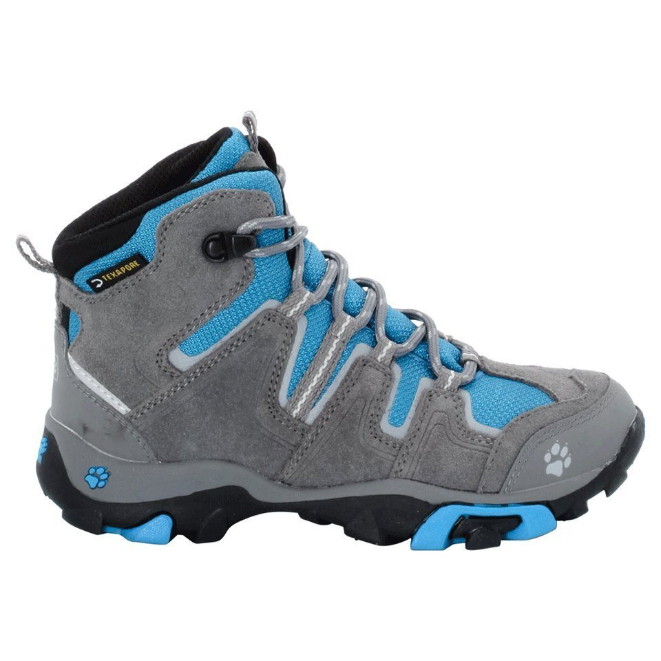 Jack Wolfskin Schuhe »BOYS MTN ATTACK MID TEXAPORE« in brilliant blue