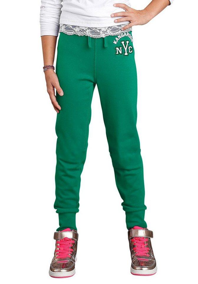 KangaROOS Sweathose für Mädchen in Grün