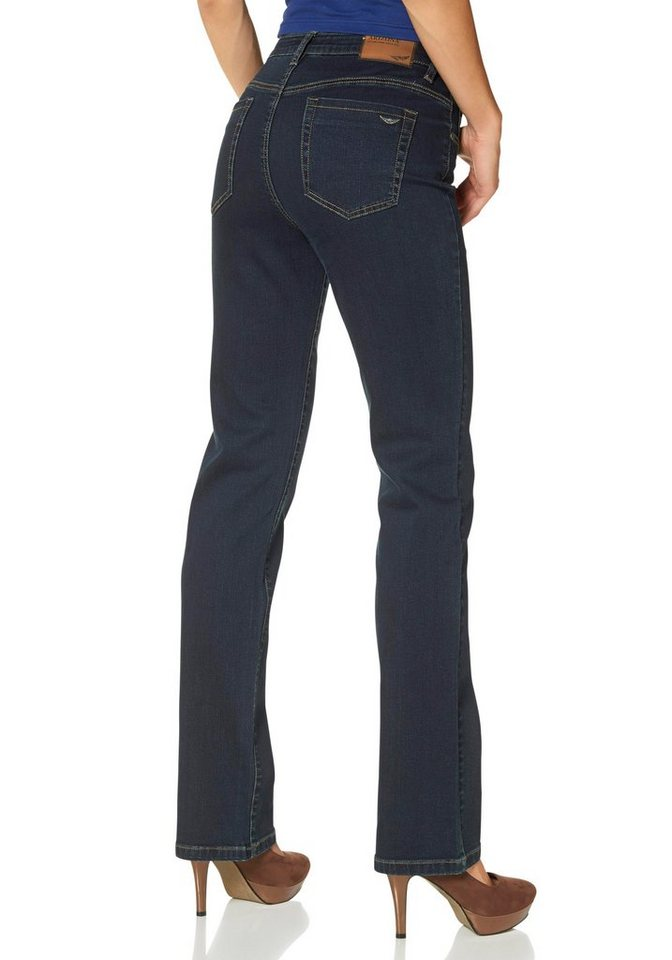 arizona bequeme jeans straight fit online kaufen otto. Black Bedroom Furniture Sets. Home Design Ideas