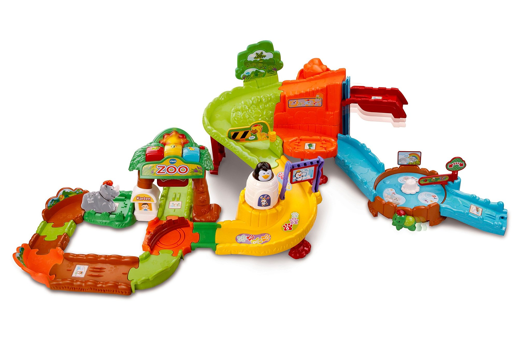 VTech Tip Tap Zoo, Tip Tap Baby Tiere