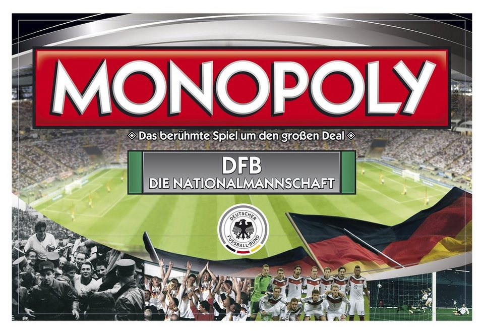 Monopoly »Die Nationalmannschaft«, Hasbro