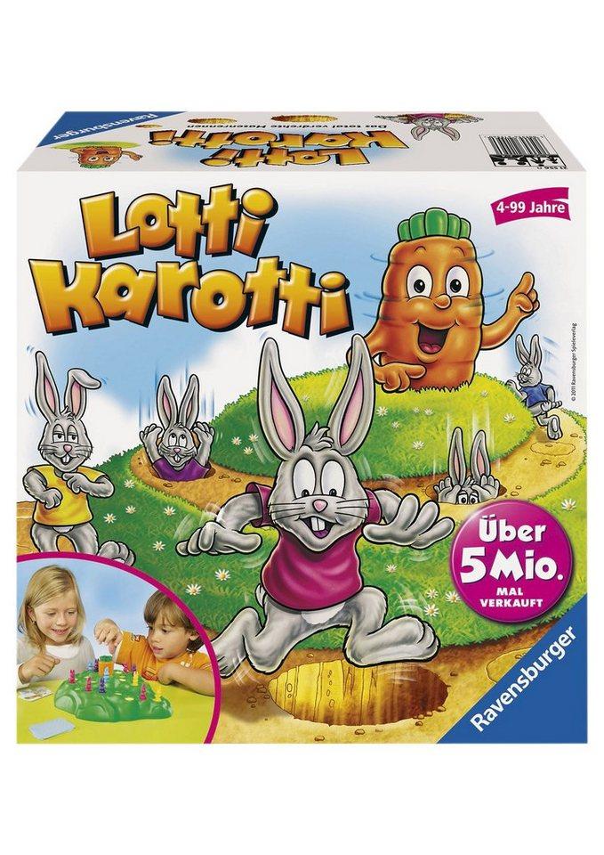 Ravensburger Wettlauf-Spiel,  Lotti Karotti