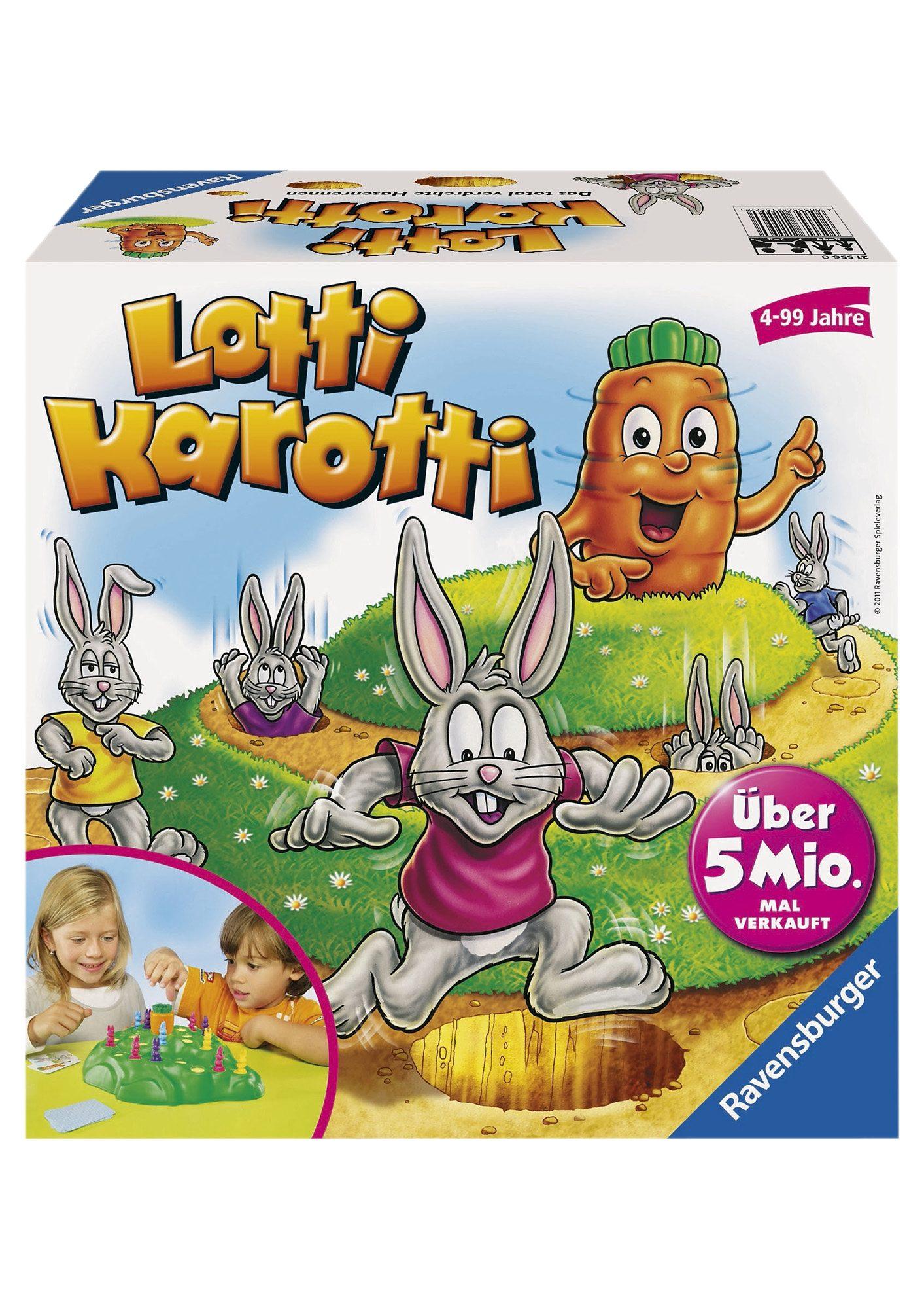 Ravensburger Wettlauf-Spiel, »Lotti Karotti«