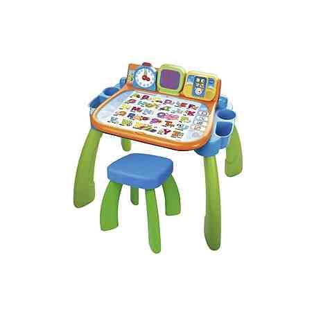 VTech Magischer Schreibtisch mit Hocker und LED-Bildschirm »3in1«