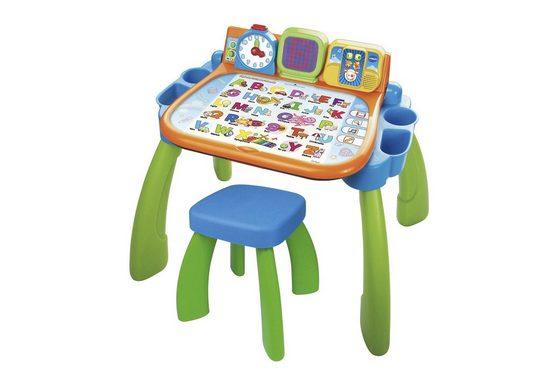 Vtech® Spieltisch »3 in 1 Magischer Schreibtisch, bunt«, mit LED-Display
