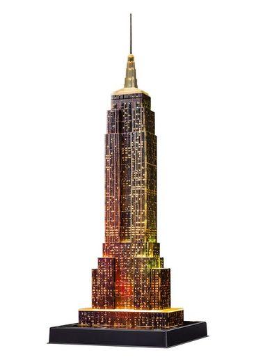 Ravensburger 3D-Puzzle »Empire State Building Night Edition«, 216 Puzzleteile