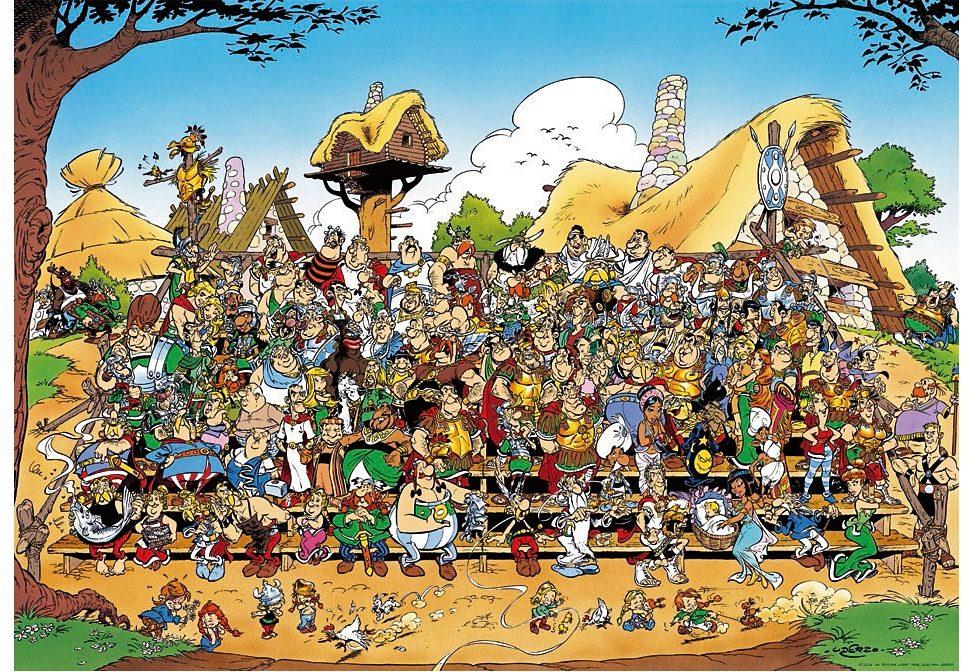 Ravensburger Puzzle 1000 Teile, »Asterix Familienfoto«