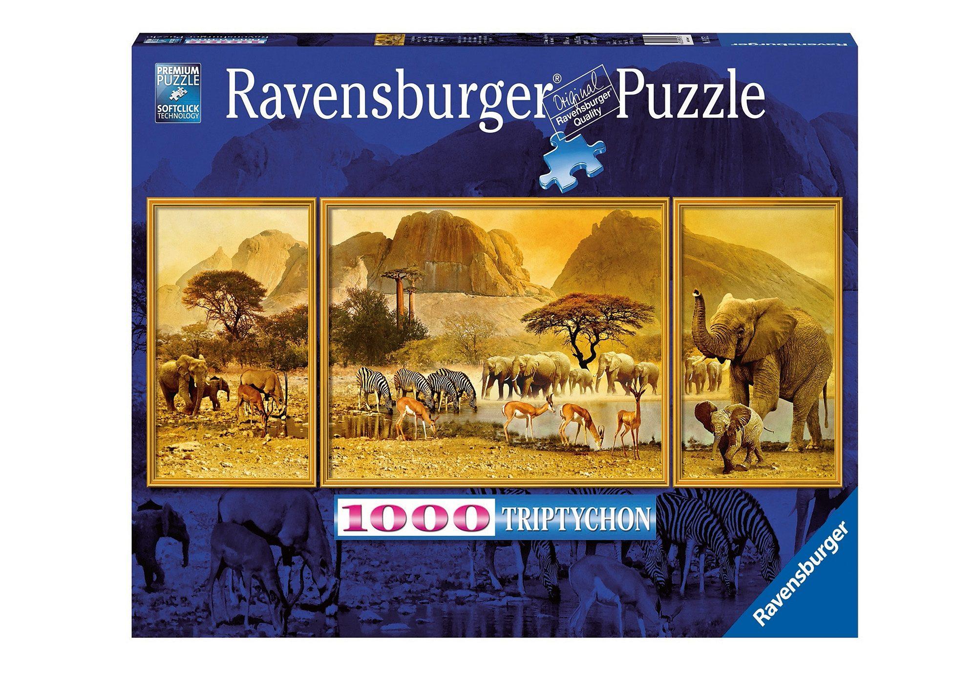 Ravensburger Puzzle 1000 Teile, »Triptychon Afrika«