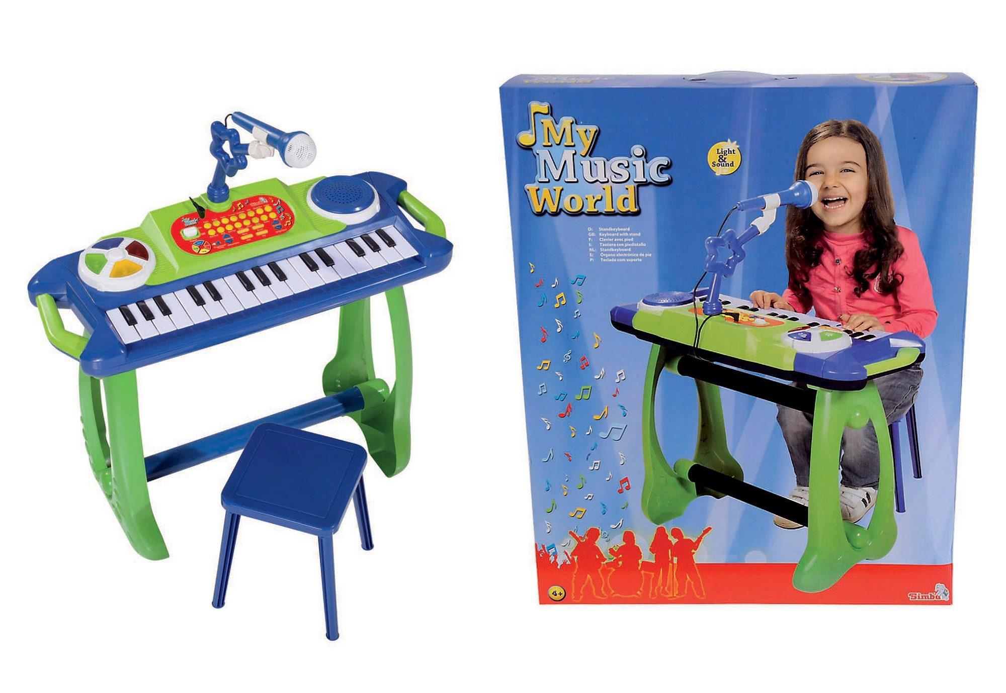 Kinder-Standkeyboard, My Music Worl, Simba