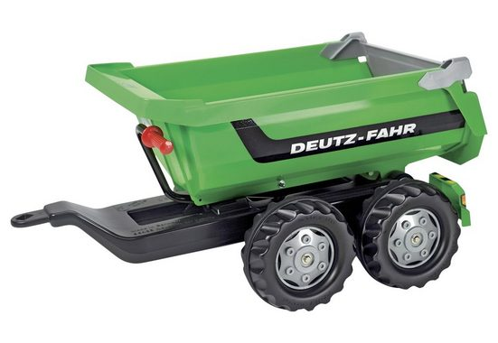 rolly toys® Kinderfahrzeug-Anhänger »rollyHalfpipe Deutz-Fahr«