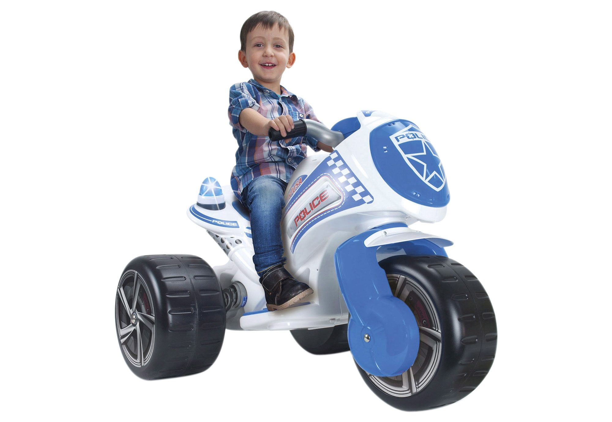 Elektro-Motorrad, »Police XL«, INJUSA