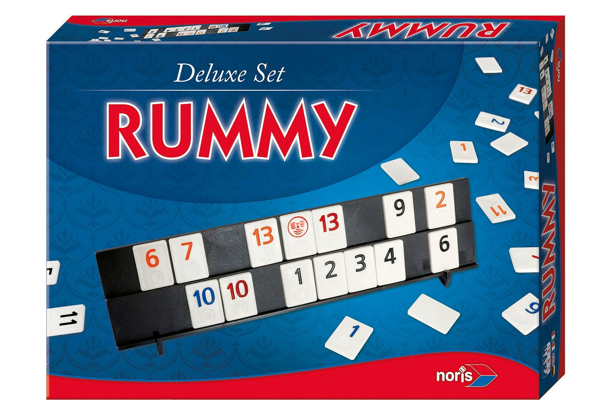 Deluxe-Set Rummy, Noris