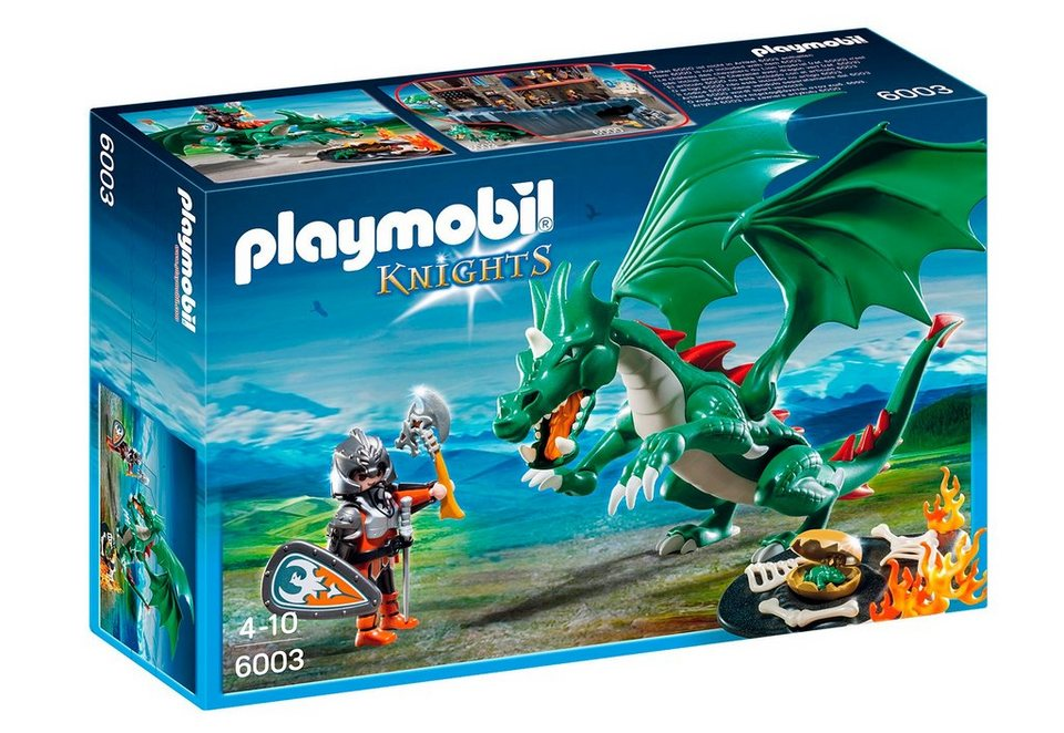 Playmobil® Großer Burgdrache (6003), Knights in braun