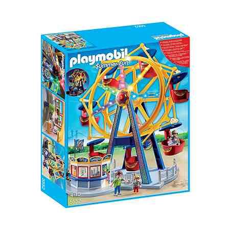 Playmobil® Riesenrad mit bunter Beleuchtung (5552), Summer Fun
