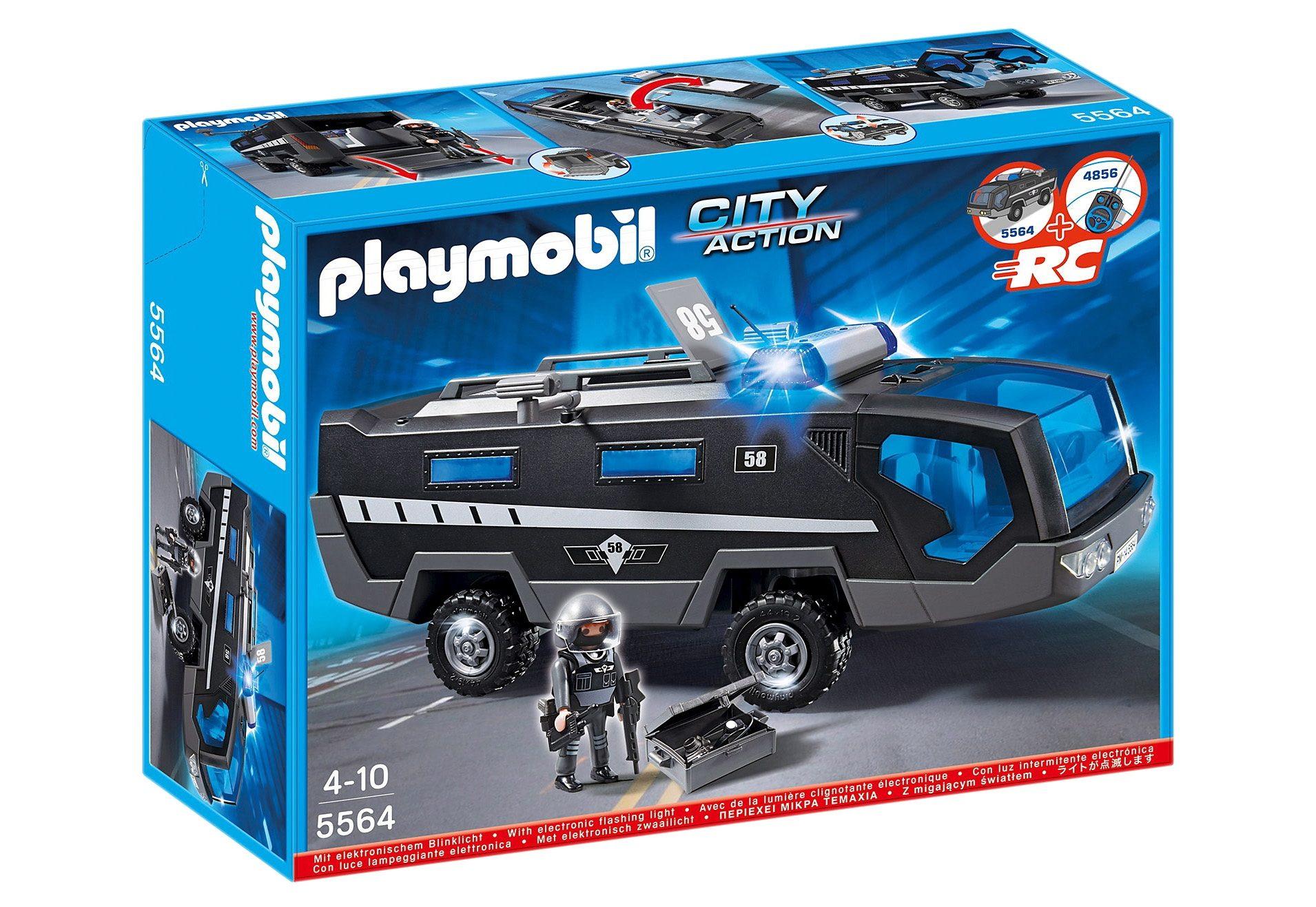 Playmobil® SEK-Einsatztruck mit Licht und Sound (5564), City Action