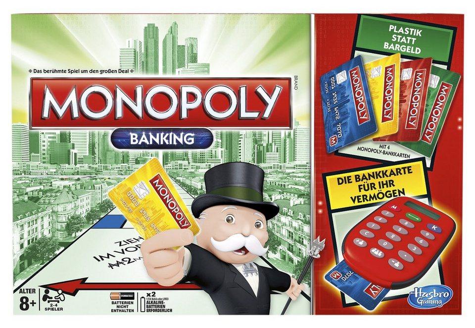 Monopoly Banking, Hasbro