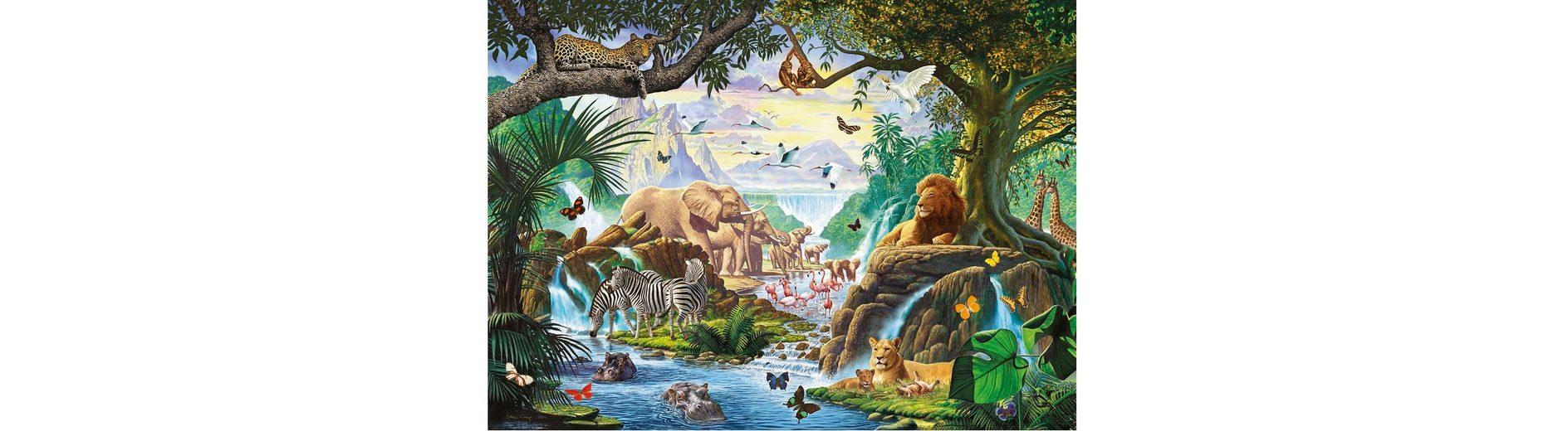 Ravensburger Puzzle 500 Teile, »Tiere am Wasserloch«