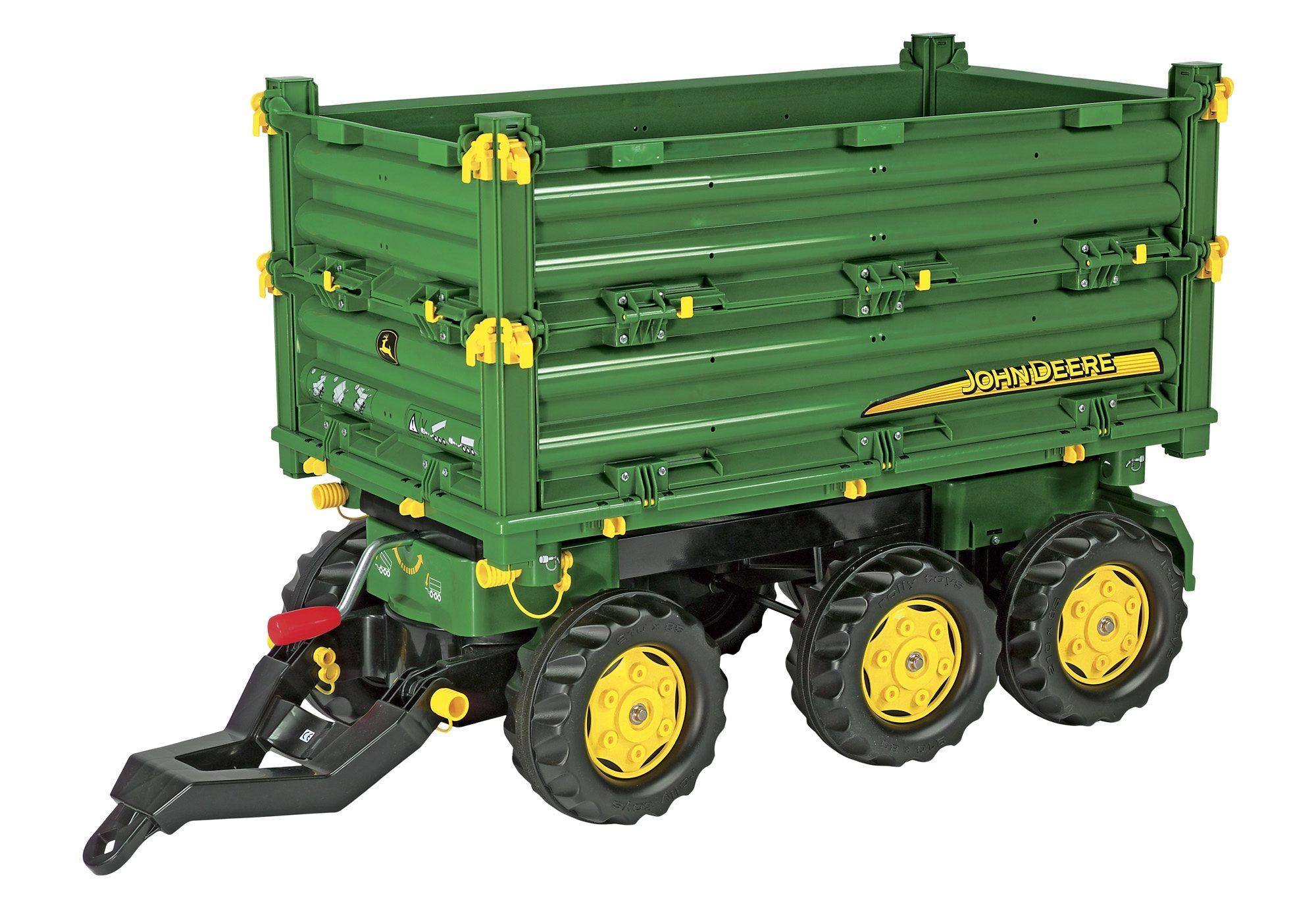 rolly toys® Dreiachs Anhänger »rollyMulti Trailer John Deere«
