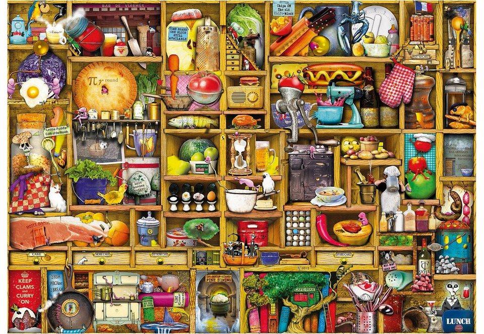 Ravensburger Puzzle 1000 Teile, »Kurioses Küchenregal«