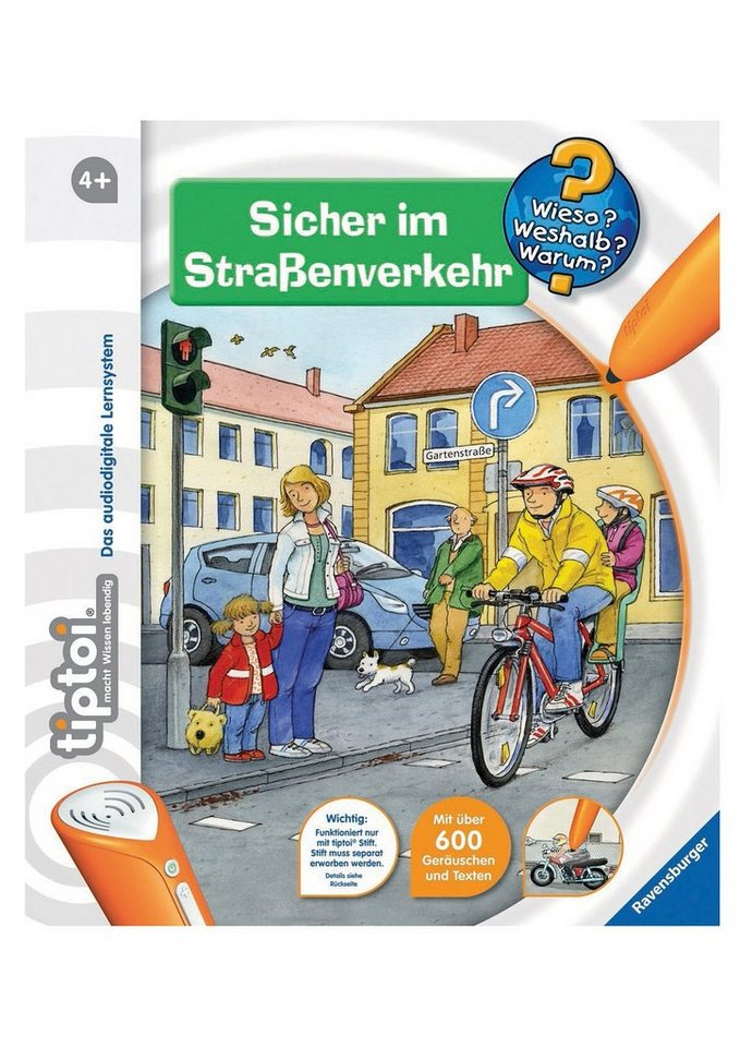 ravensburger buch tiptoi www sicher im stra enverkehr online kaufen otto. Black Bedroom Furniture Sets. Home Design Ideas