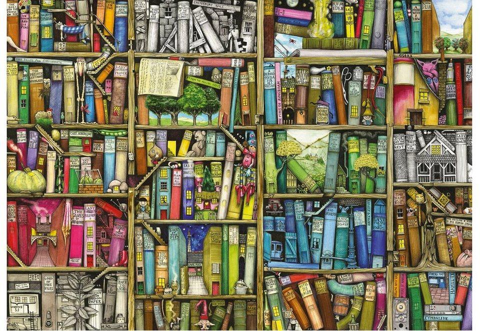 Ravensburger Puzzle 1000 Teile, »Magisches Bücherregal«