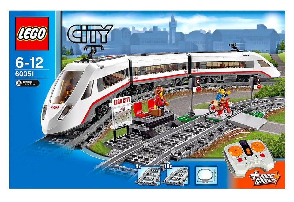 LEGO®, Hochgeschwindigkeitszug (60051), Lego City