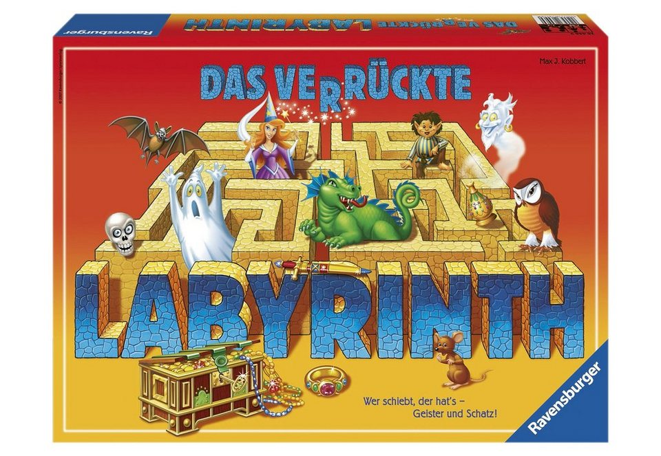 ravensburger schiebe spiel das verr ckte labyrinth online kaufen otto. Black Bedroom Furniture Sets. Home Design Ideas