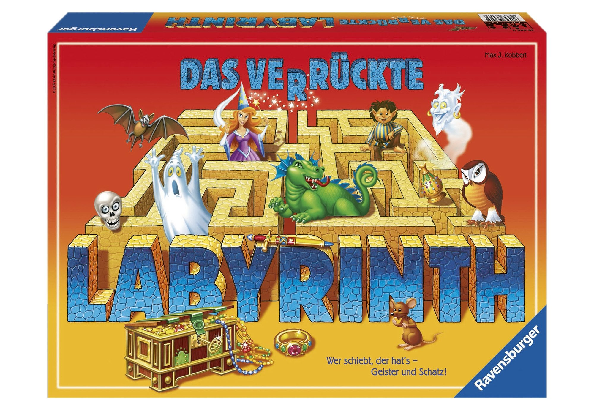 Ravensburger Schiebe-Spiel, »Das verrückte Labyrinth«