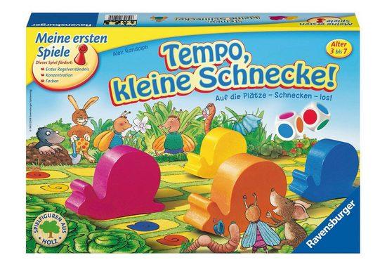 Ravensburger Spiel, »Auf die Plätze - Schnecken - los!«, Made in Europe, FSC® - schützt Wald - weltweit