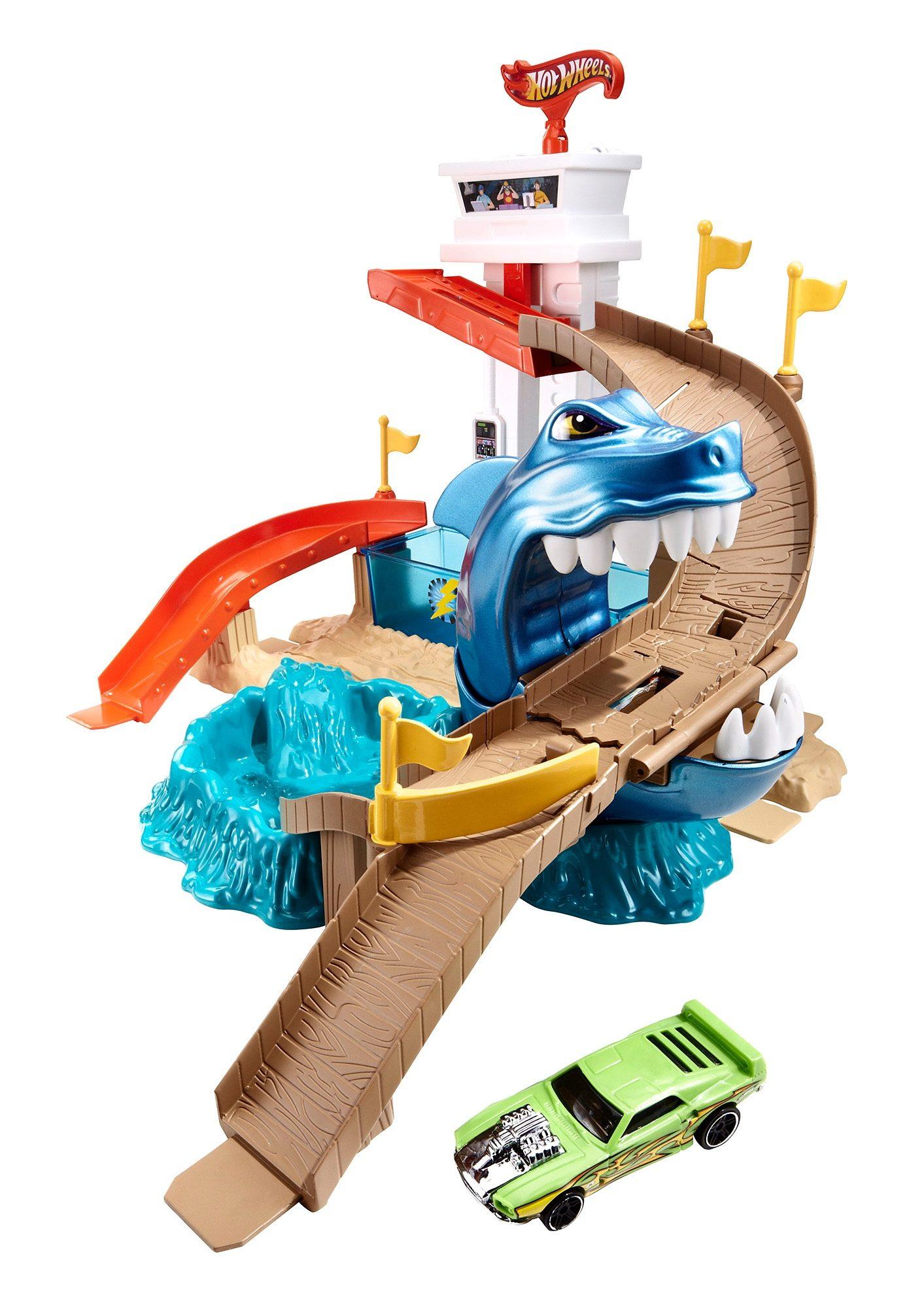 Mattel, Spiel-Set, »Hot Wheels - Hai-Attacke«