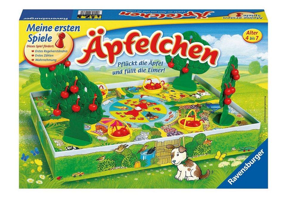 Ravensburger Kinder-Spiel, »Pflückt die Äpfel und füllt die Eimer!«